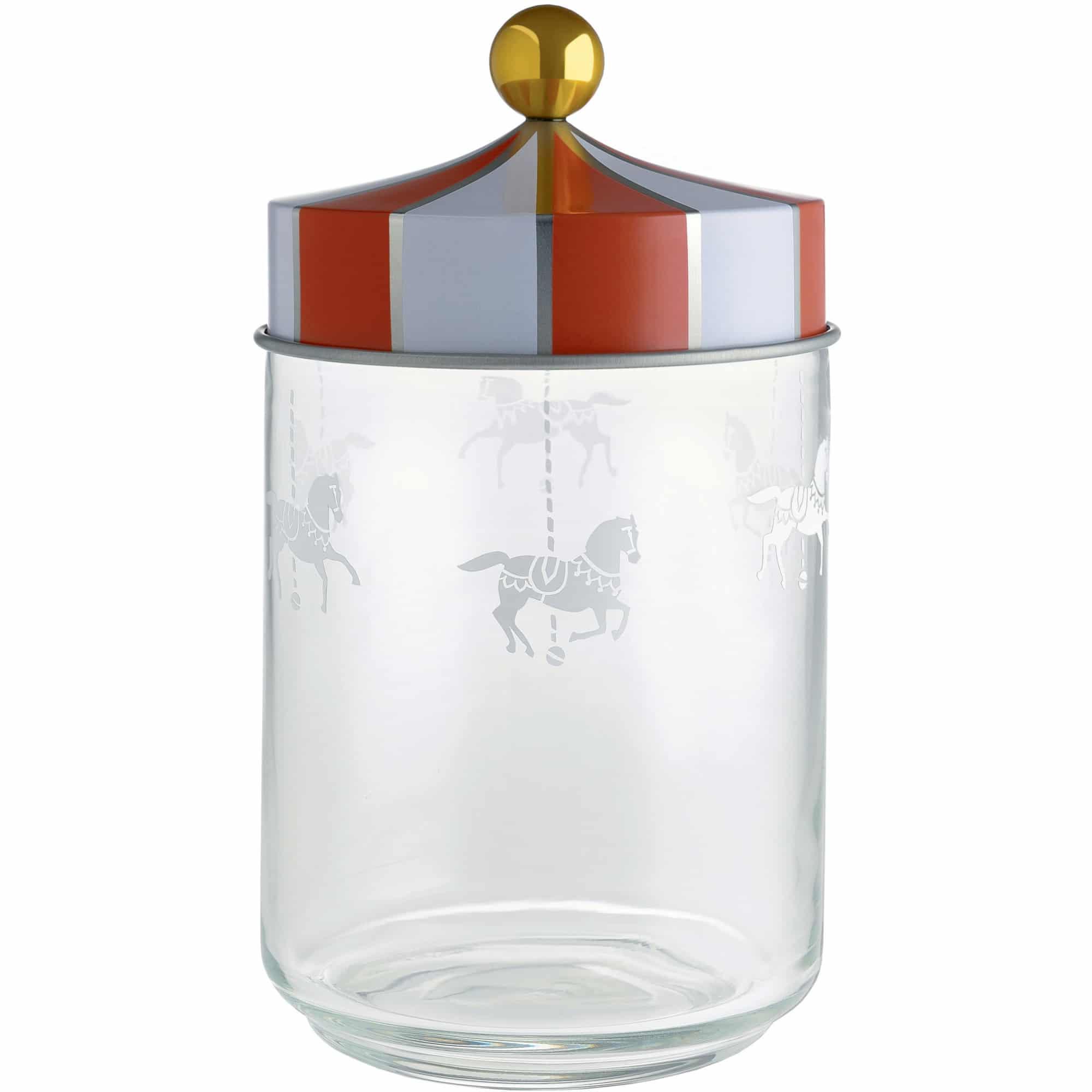 Alessi Circus Glasburk med Hermetiskt lock 100 cl