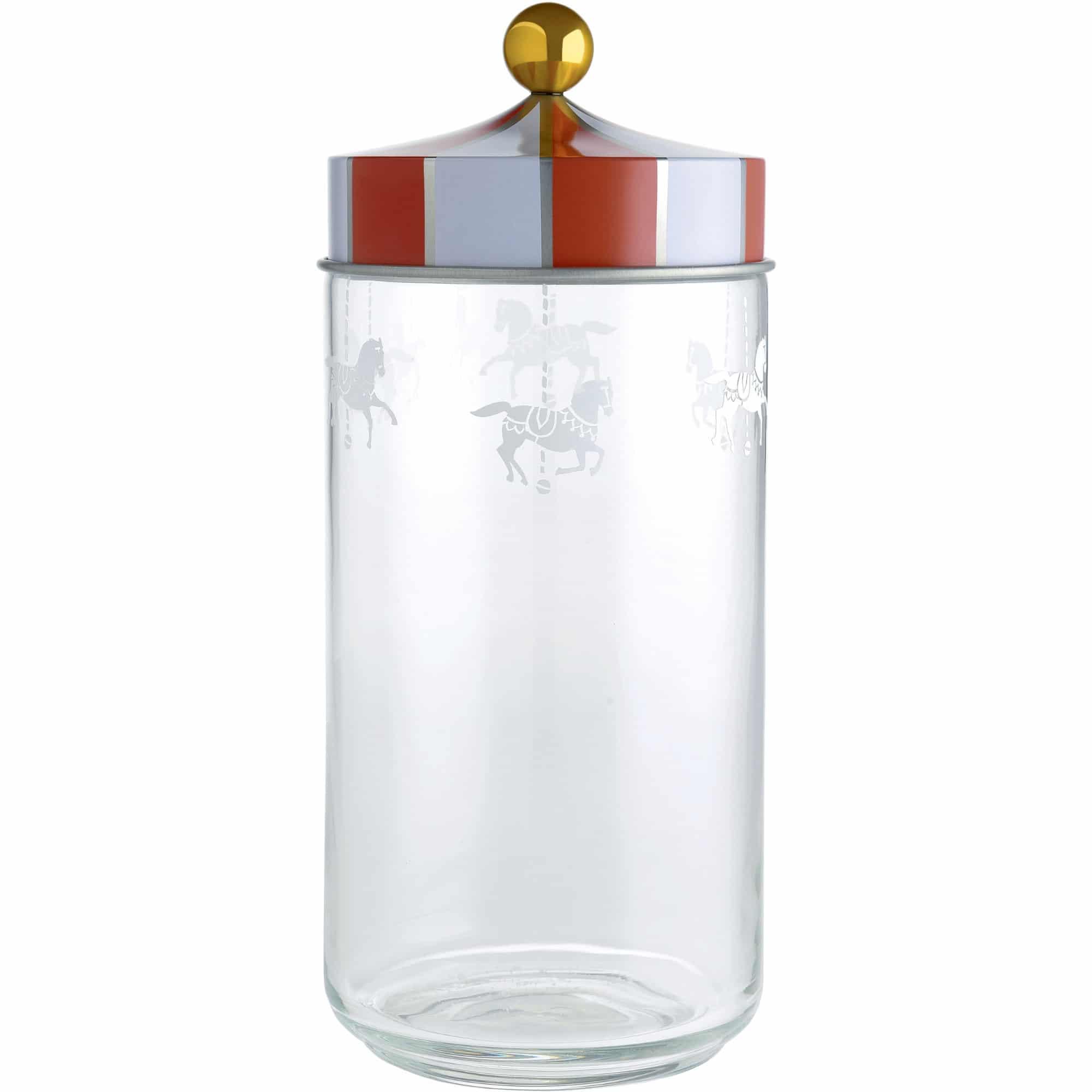 Alessi Circus Glasburk med Hermetiskt lock 150 cl