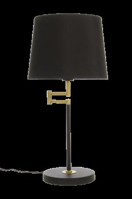 Birka bordlampa (Svart)