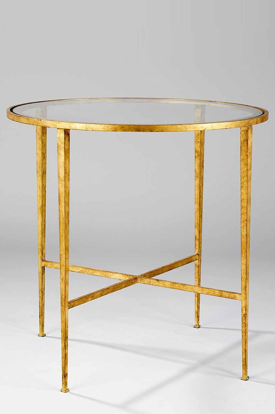 Sidobord Helmsley 61 cm guld