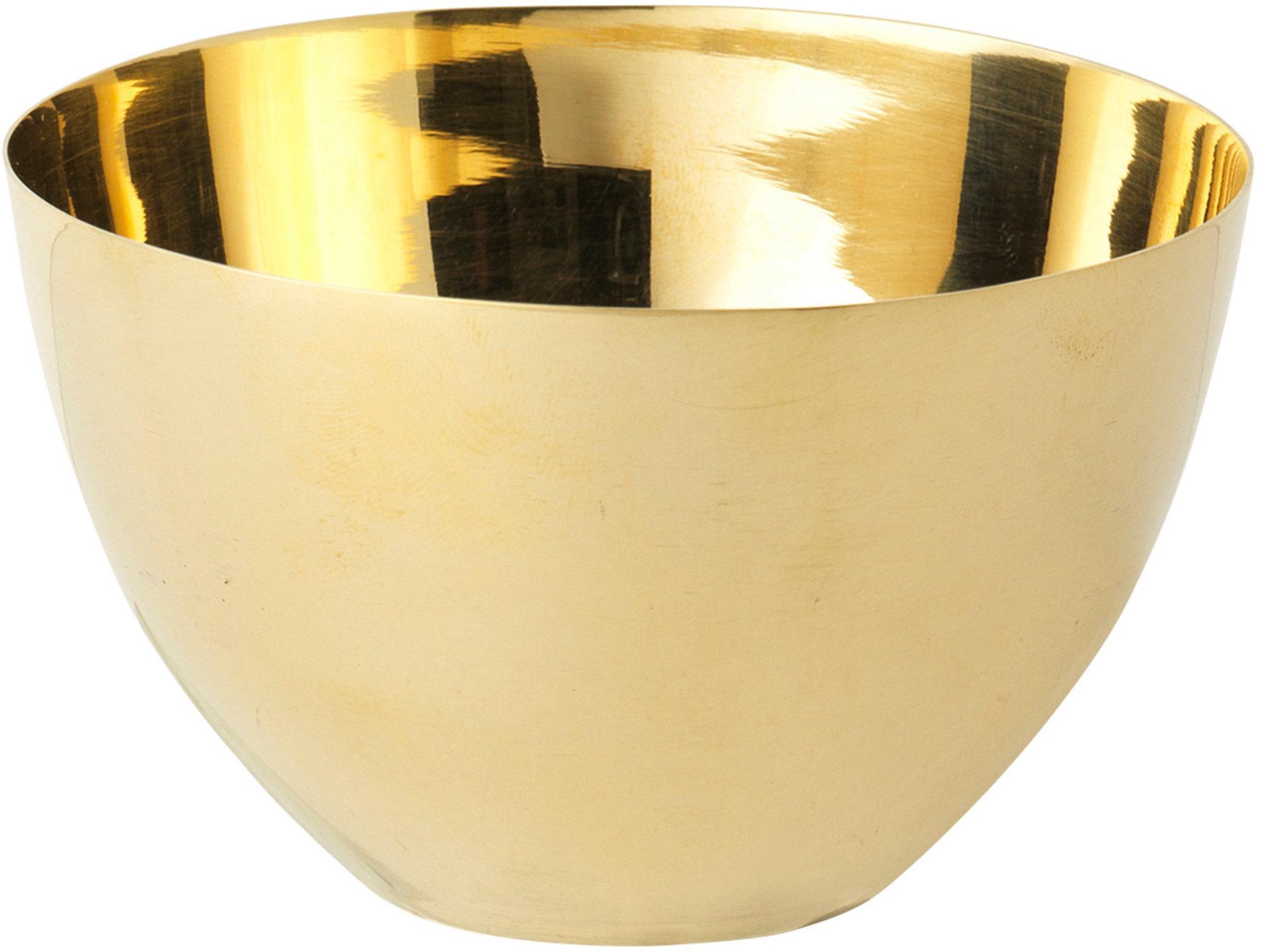 Caffenu 'Joan' skål i mässing, 8 cm