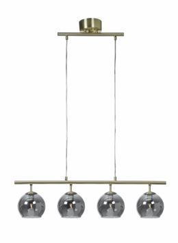 Capella 4 taklampa (Mässing/guld)