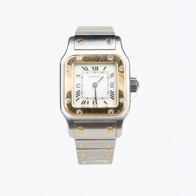 Cartier Santos De Cartier Galbée Watch