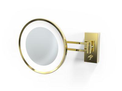 Decor Walther BS 36 LED-sminkspegel, guld