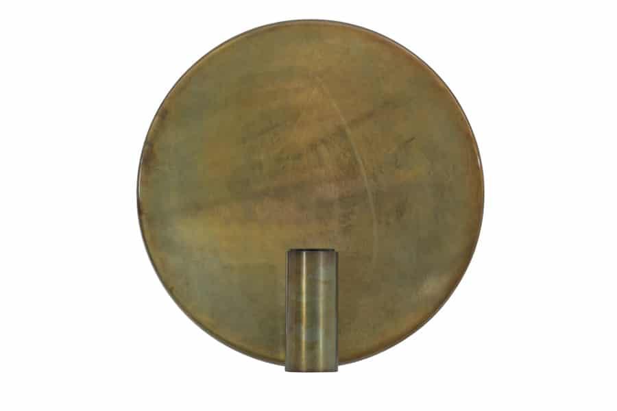 Disc vägglampa (Mässing/guld)