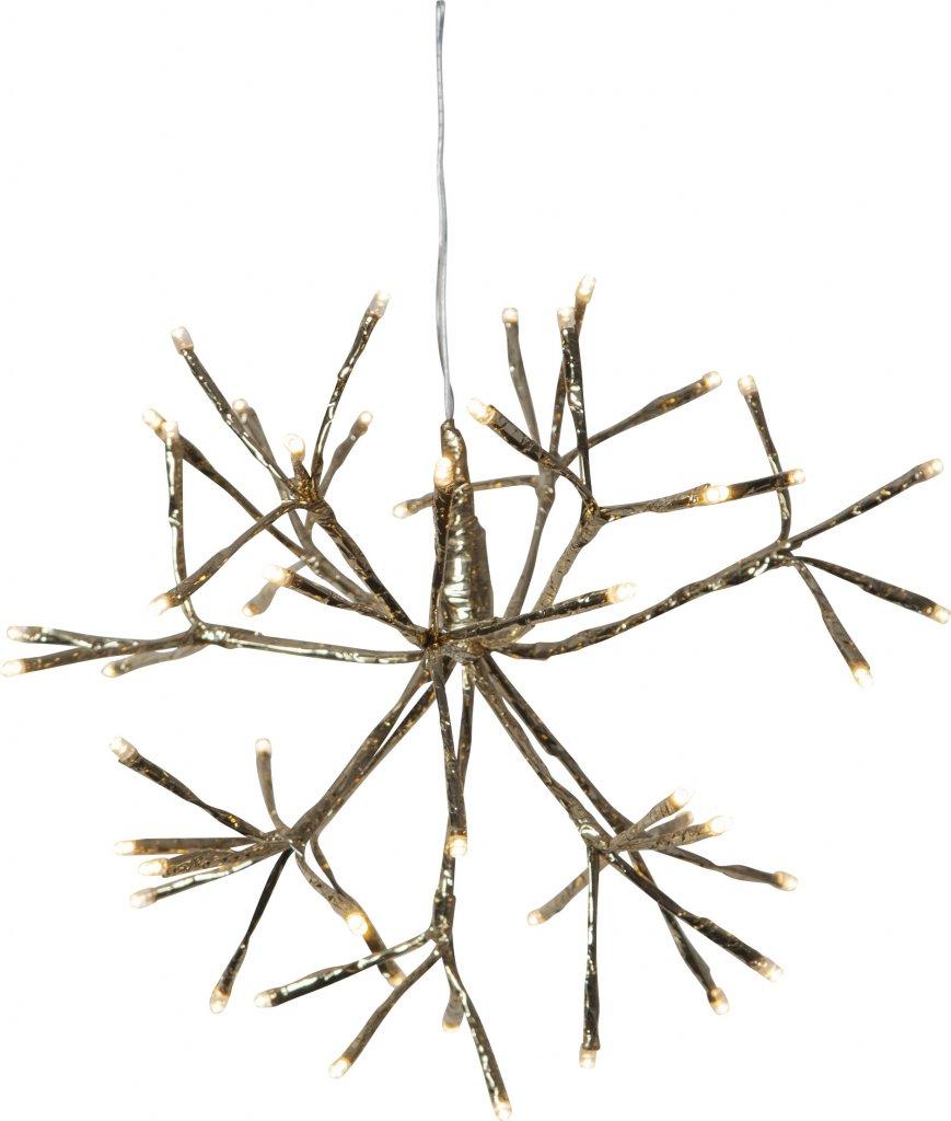Firework utomhusdekoration 30cm (Mässing/guld)