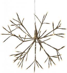 Firework utomhusdekoration 40cm (Mässing/guld)