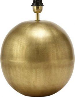 Globe Lampfot Blekt Guld 40cm