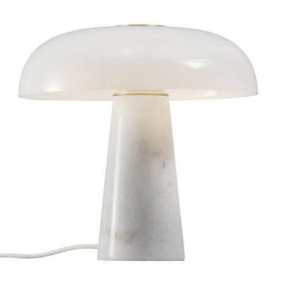 Glossy bordlampa (Vit)