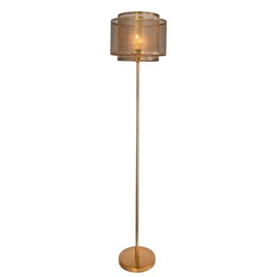 Hermine golvlampa (Mässing/guld)