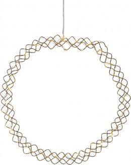 Hoop dekoration 30cm (Mässing/guld)