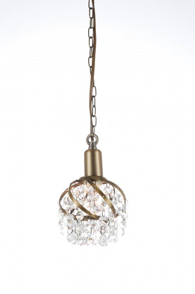 Isabelle fönsterlampa (antik) (Antikmässing)