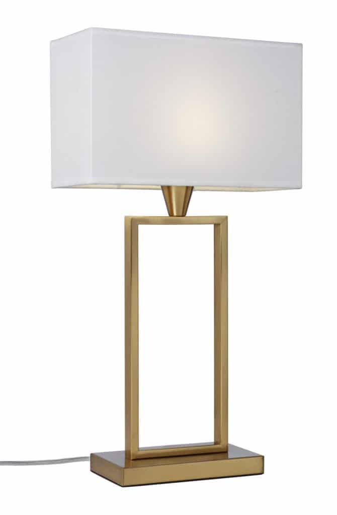 Kensington bordlampa (Mässing/guld)