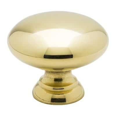 Knopp 411 pol. Mässing - 3,2 cm