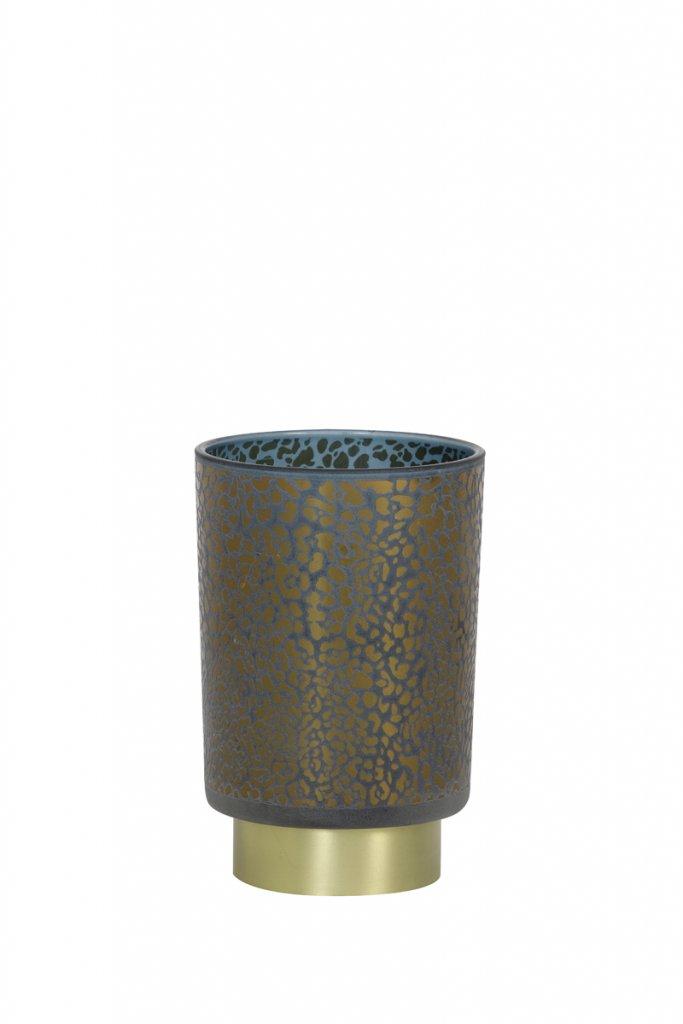 Leopard LED 10cm (Blå)