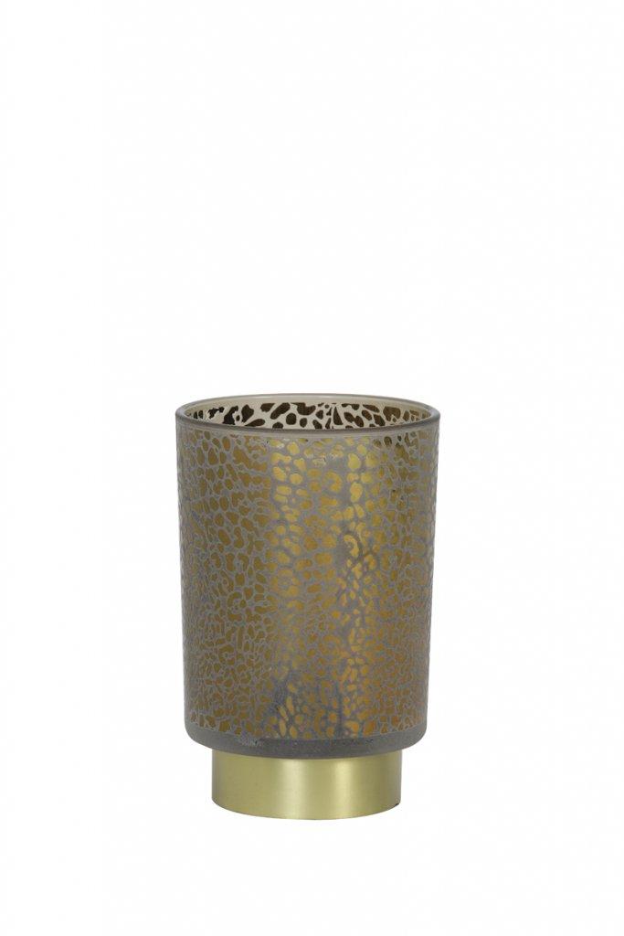 Leopard LED 10cm (Grå)