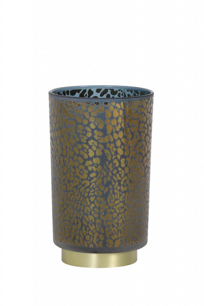 Leopard LED 12cm (Blå)
