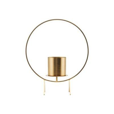 Ljushållare Cirkle Mässing 40 cm