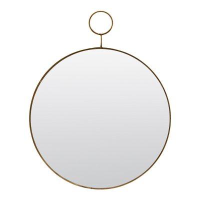 Loop Spegel Mässing 32 cm