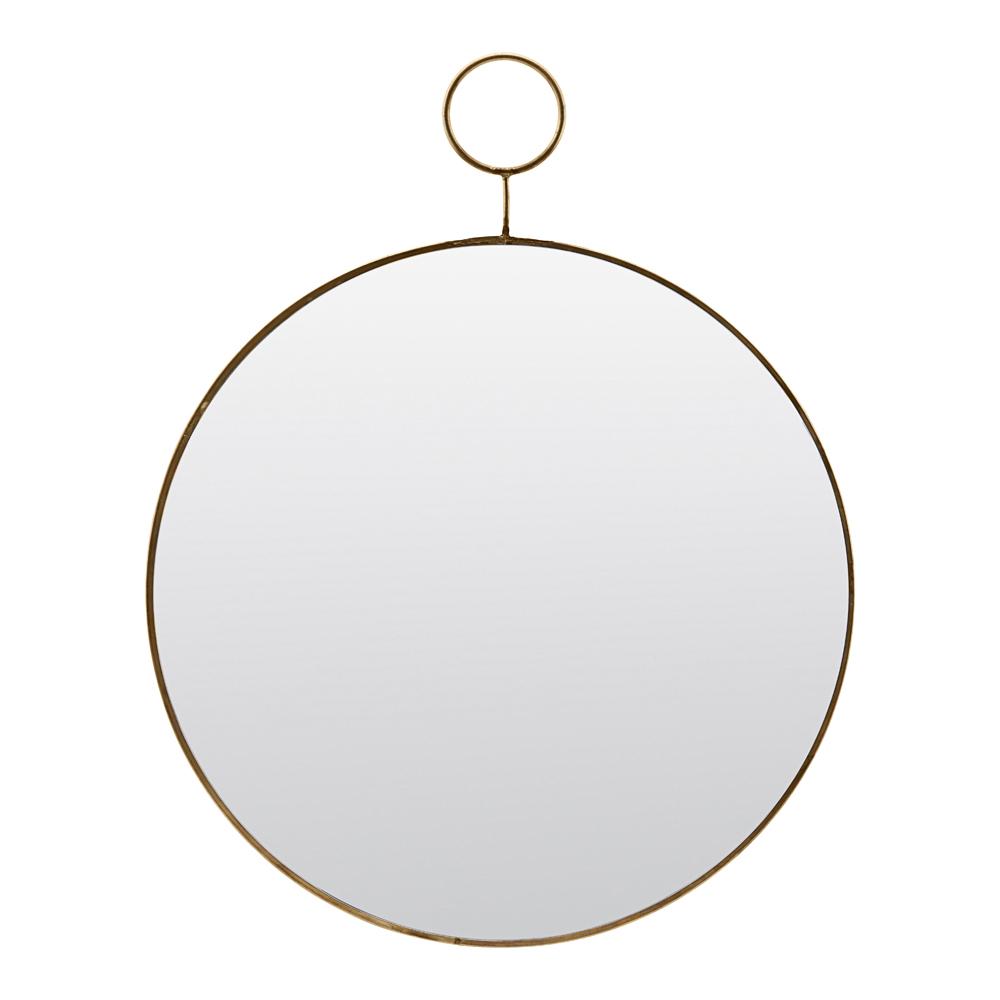 House Doctor – Loop Spegel Mässing 32 cm