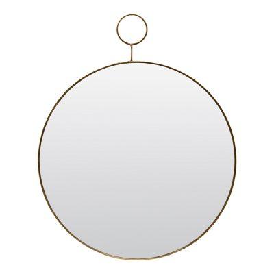 Loop Spegel Mässing 38 cm