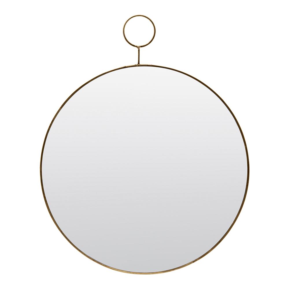 House Doctor – Loop Spegel Mässing 38 cm