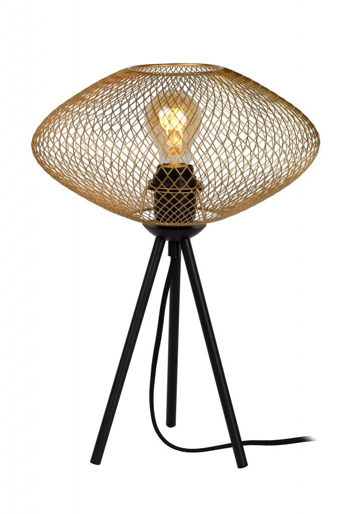 Mesh bordlampa 30cm (Mässing/guld)