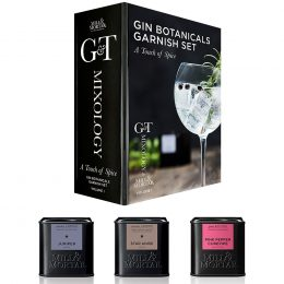 Mill & Mortar Presentask, G&T a touch of spice
