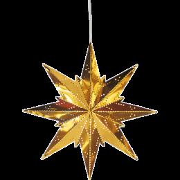 Mini metallstjärna (Vit)