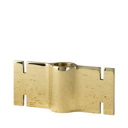 Modulär Ljushållare Brick, 12,7x5,5 cm, mässing