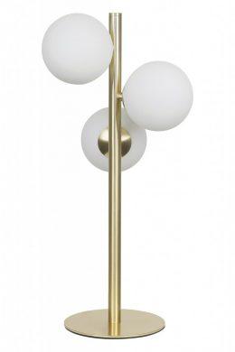 Molekyl bordslampa opal (Mässing/guld)