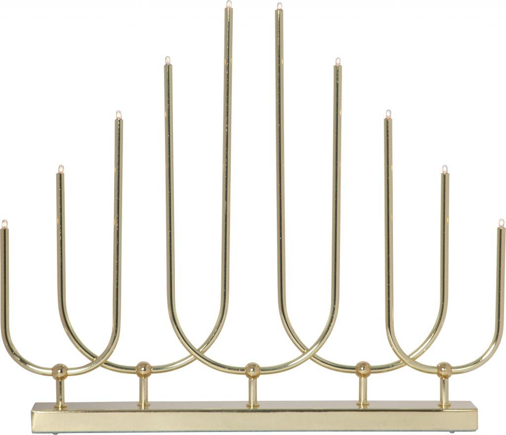 Novum ljusstake (Förkromad/blank)