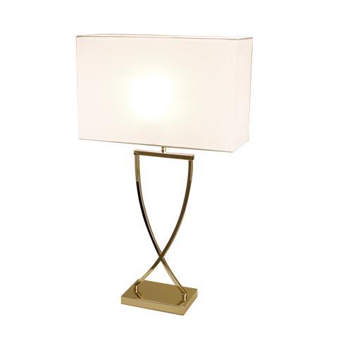 Omega bordslampa H52cm (Vit)