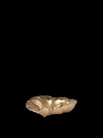 Oyster Skål Mässing