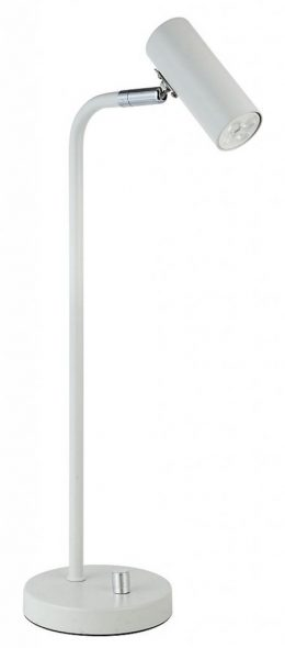 Skrivbordslampa LED m. dimmer (Borstad mässing)