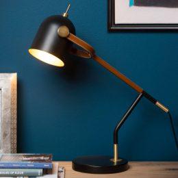 Skrivbordslampa Waylon i retrodesign
