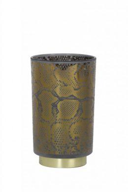 Snake LED 12cm (Mässing/guld)