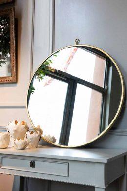 Spegel Mary 70cm förgylld