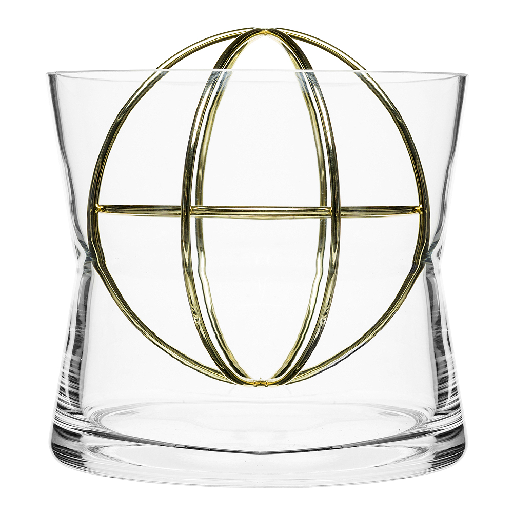 Sphere Vas Large Guld