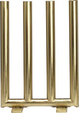 Viking Candle 28cm (Mässing/guld)