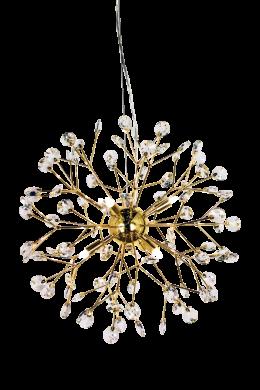 Viva taklampa kristall (Mässing/guld)