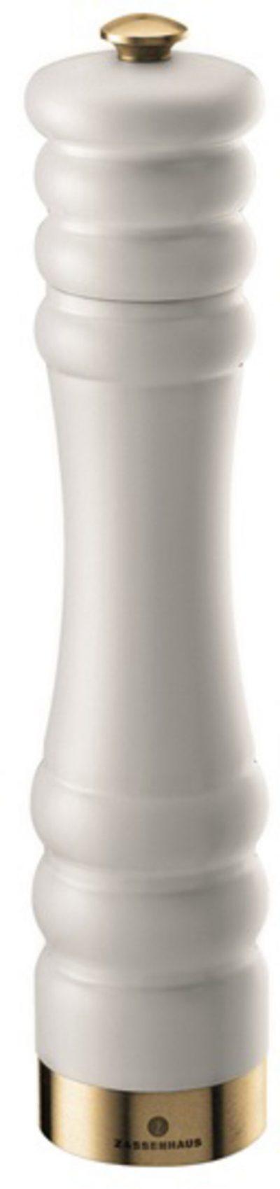 Zassenhaus Saltkvarn Munchen Matt Vit/Guld 25 cm 150 År